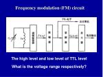 frequency modulation fm circuit