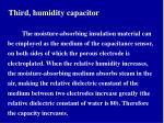 third humidity capacitor