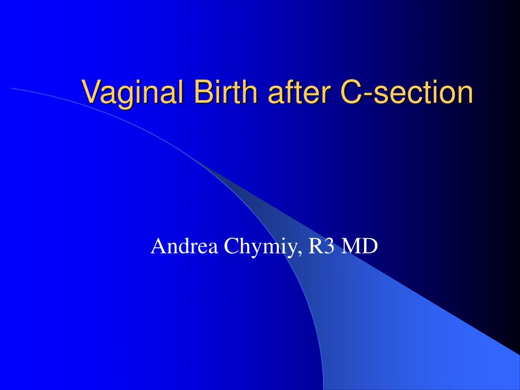 vaginal birth after c section l.
