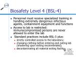 biosafety level 4 bsl 424