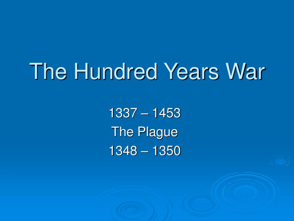 the hundred years war l.