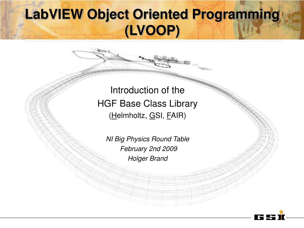 labview object oriented programming lvoop l.