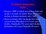 problem statement india