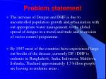 problem statement12