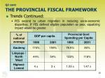 q2 cont the provincial fiscal framework20
