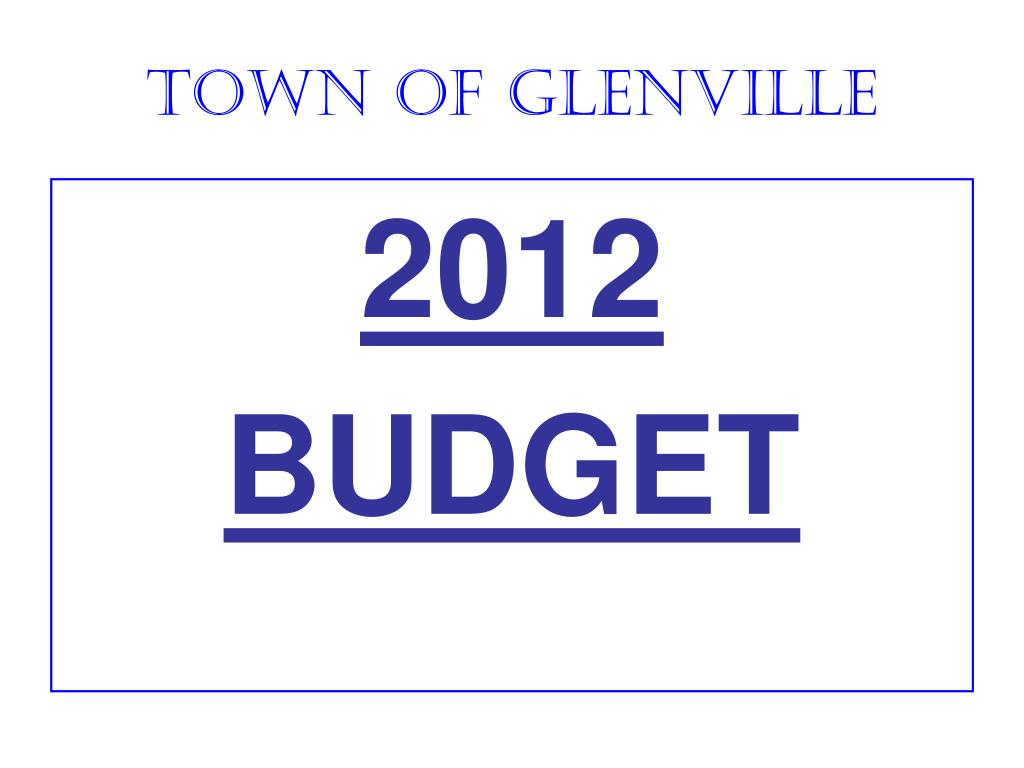 town of glenville l.