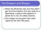 the emperor and shogun