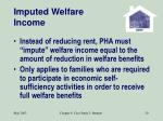 imputed welfare income20