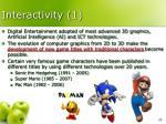 interactivity 1