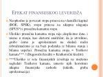 efekat finansijskog leverid a13
