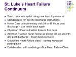 st luke s heart failure continuum
