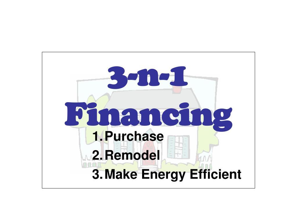 3 n 1 financing l.