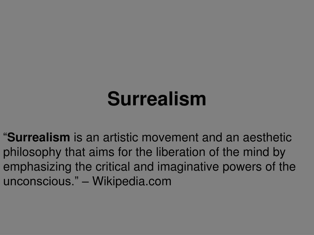 surrealism l.