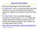 big and little endian