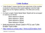 little endian