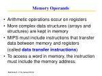 memory operands26