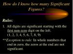 how do i know how many significant figures