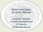 search and query an over re view
