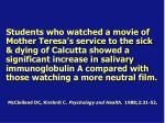 mcclelland dc kirshnit c psychology and health 1988 2 31 52