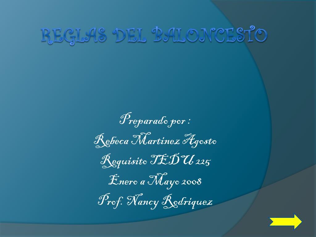 preparado por rebeca martinez agosto requisito tedu 225 enero a mayo 2008 prof nancy rodriquez l.