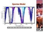 species model