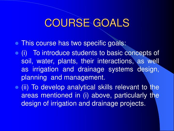 Ppt Me31d Drainage And Irrigation Engineering Powerpoint Presentation Id 331309