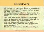 musikkverk