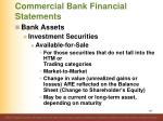 commercial bank financial statements107