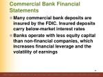 commercial bank financial statements99