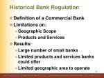 historical bank regulation45