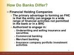 how do banks differ14