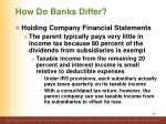 how do banks differ26
