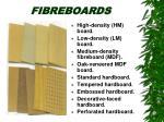 fibreboards