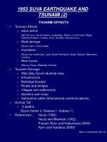 1953 suva earthquake and tsunami 2
