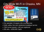city wide wi fi in chaska mn