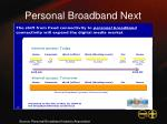 personal broadband next