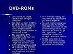 dvd roms