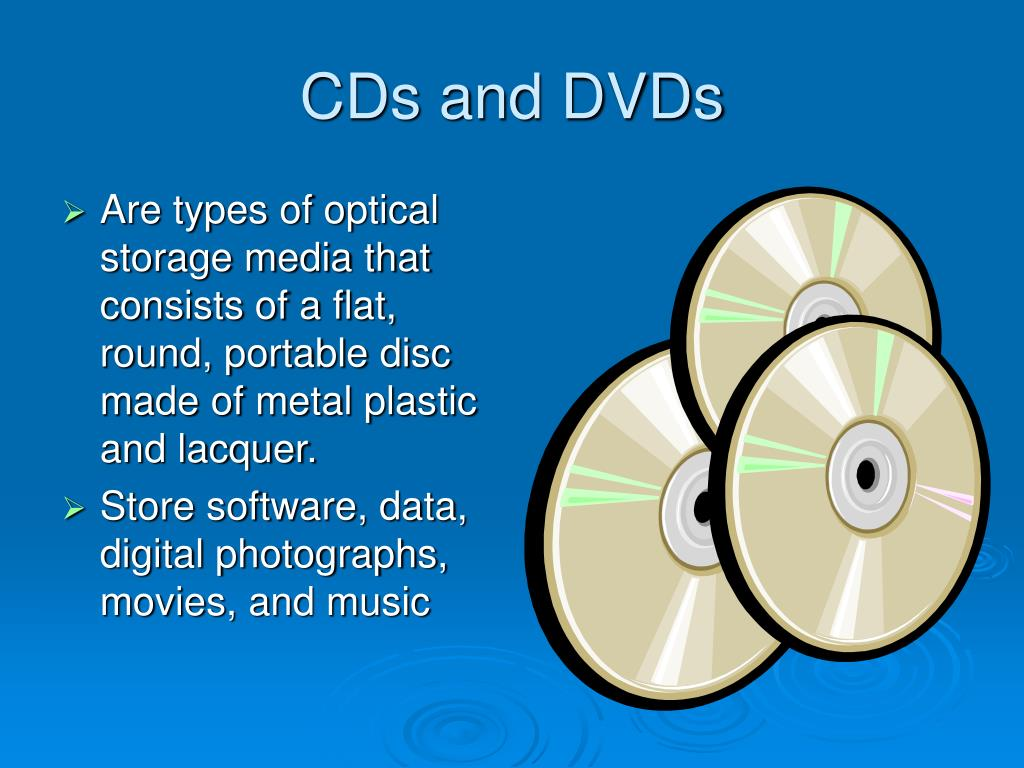 cds and dvds l.