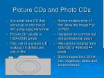 picture cds and photo cds
