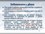 i nflammatory phase20