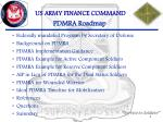 pdmra roadmap