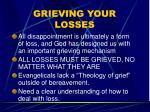 grieving your losses