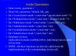 inode operations