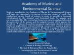 academy of marine and environmental science