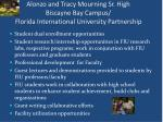 alonzo and tracy mourning sr high biscayne bay campus florida international university partnership