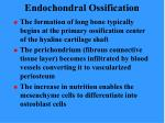 endochondral ossification74
