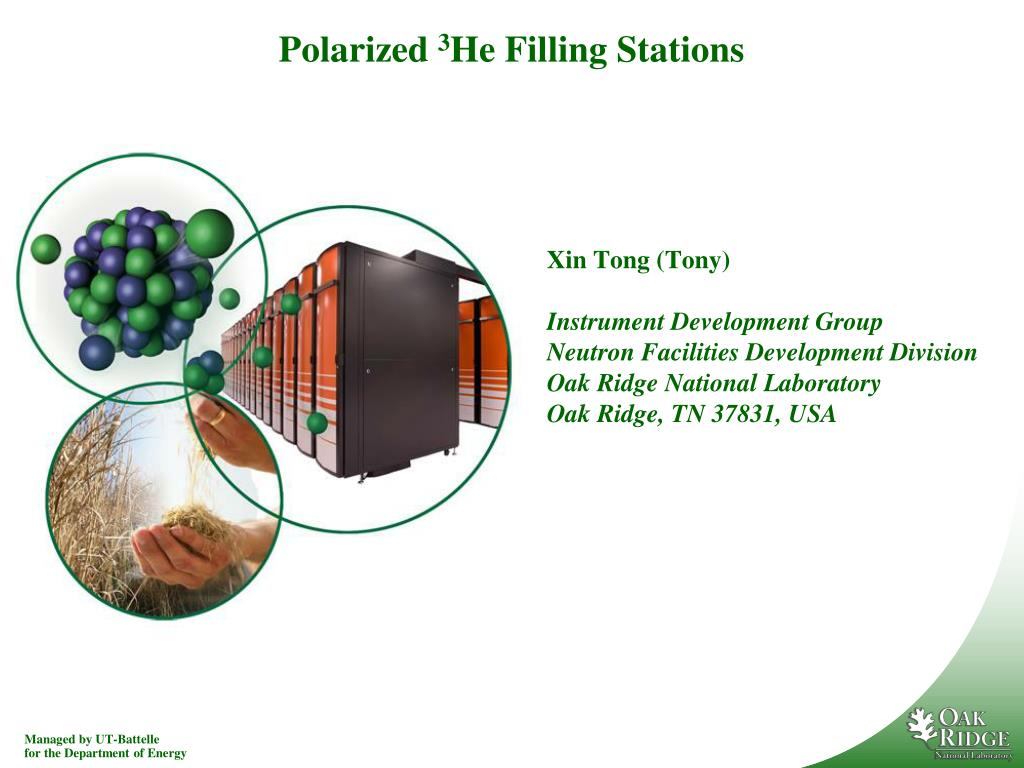 polarized 3 he filling stations l.