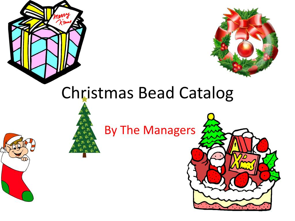 christmas bead catalog l.