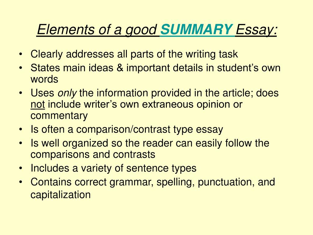 what are the elements and features of an essay Write an essay in which you explain how paul bogard builds an argument to persuade his audience that natural darkness should be preserved in your essay, analyze how bogard uses one or more of the features in the directions that precede the passage (or features of your own choice) to strengthen the logic and persuasiveness of his argument.