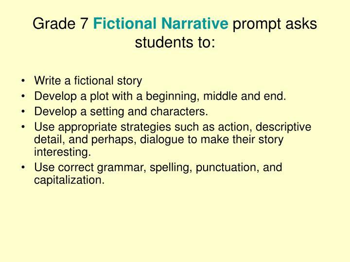 imaginative narrative ideas